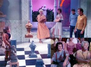 """Co-starring in Classic Star Trek """"Plato's Stepchildren"""""""